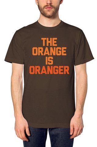 0b7d12946b1c44 The Orange Is Oranger - Unisex Crew   CLE   Unisex, Clothing co ...