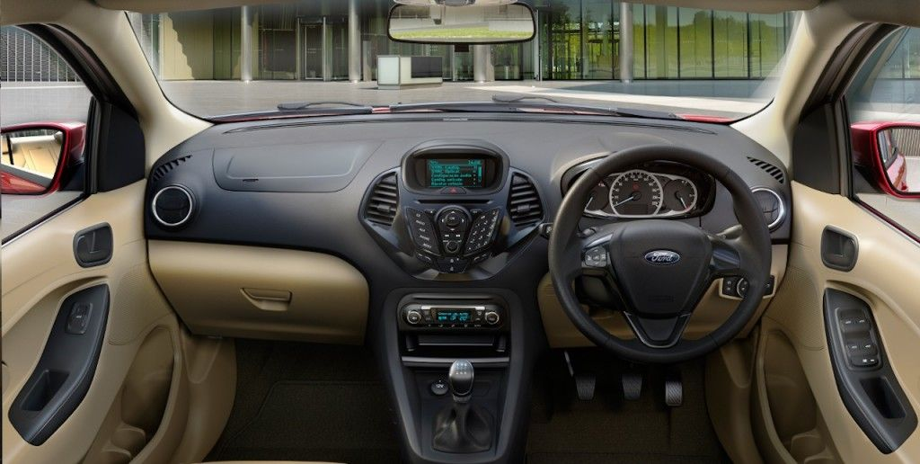 Ford Figo Aspire S Interior And 6 Speed At Images Released Ford