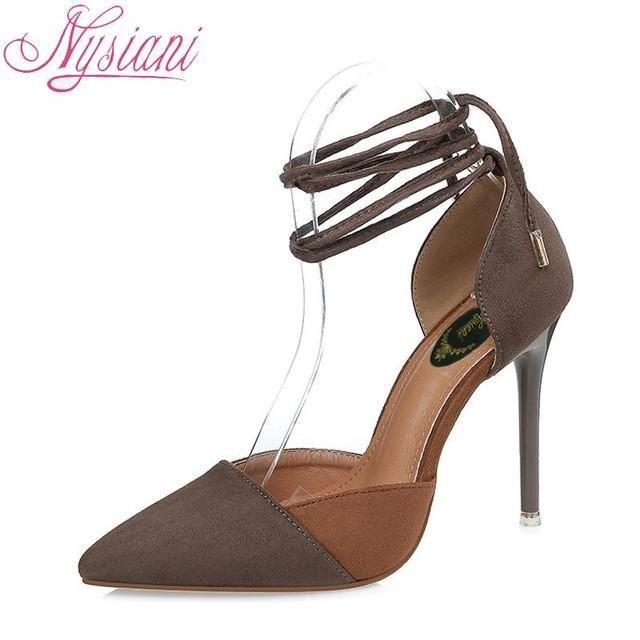 Pointed Toe High Heels Sandals
