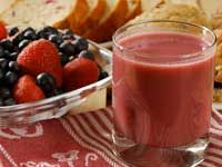 improve your health just by adding cranberries, blueberries, and strawberries