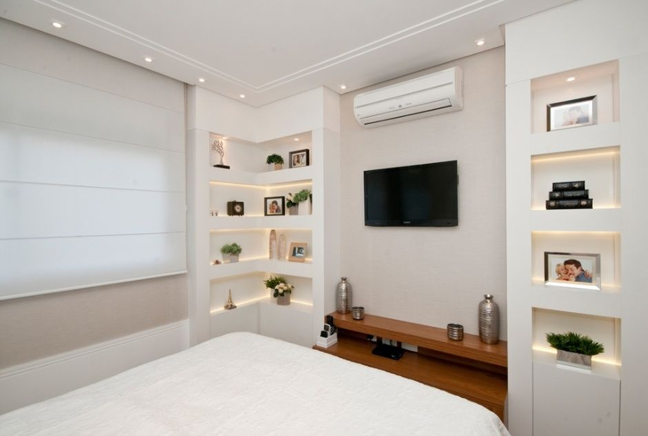 Decoração clarinha e leve em quartos de casal cria clima aconchegante - Casa e Decoração - UOL Mulher