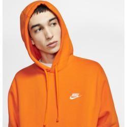 Photo of Nike Sportswear Club Fleece Hoodie – Orange Nike
