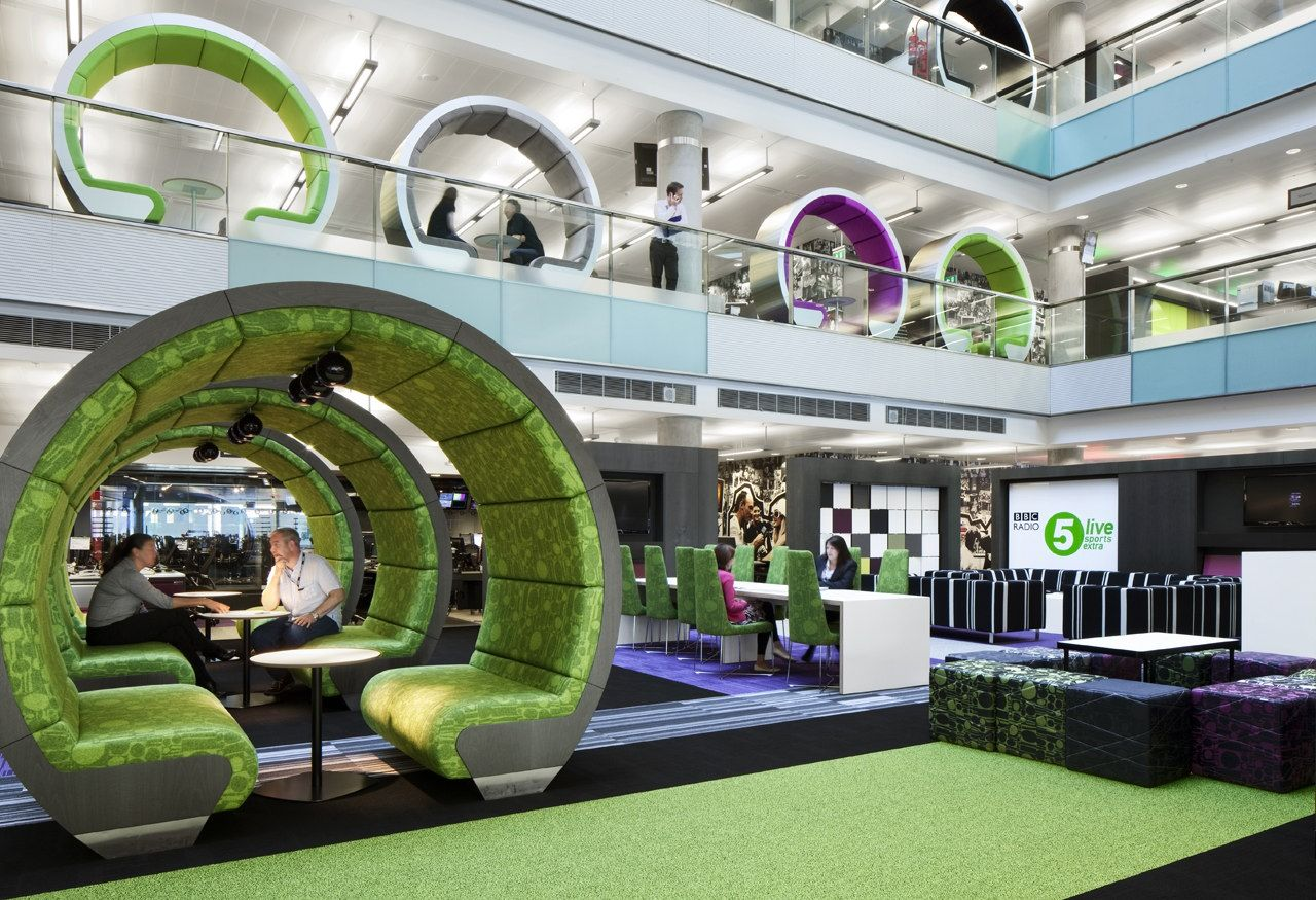 Bbc North By Id Sr Creative Office Space Office Interior Design