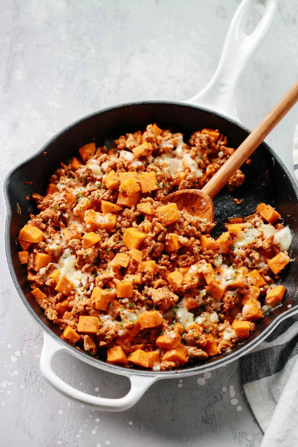 Ground Turkey Sweet Potato Skillet | Recipe | Skillet ...