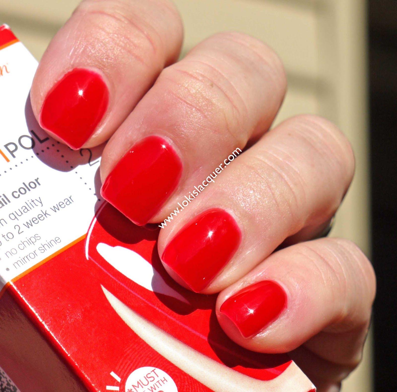 Sally Hansen Salon Gel polish- Kook a mango, White away and Red my ...