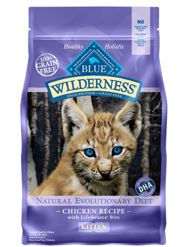 Blue Buffalo All Natural High Protein Healthy Food For Kittens Kitten Food Dry Cat Food Blue Buffalo