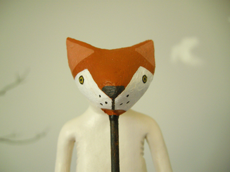mook with a fox mask