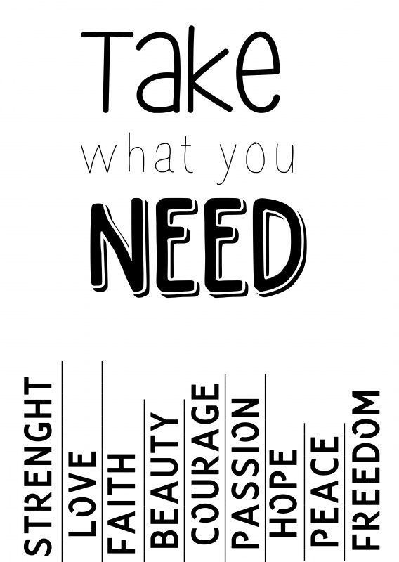Take What You Need Take What You Need Clever Quotes Words Quotes