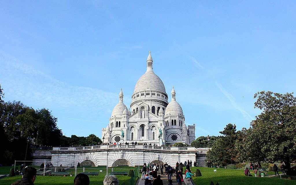 Staircases Worth The Climb: Sacre Coeur and Montmartre (source: wiki)