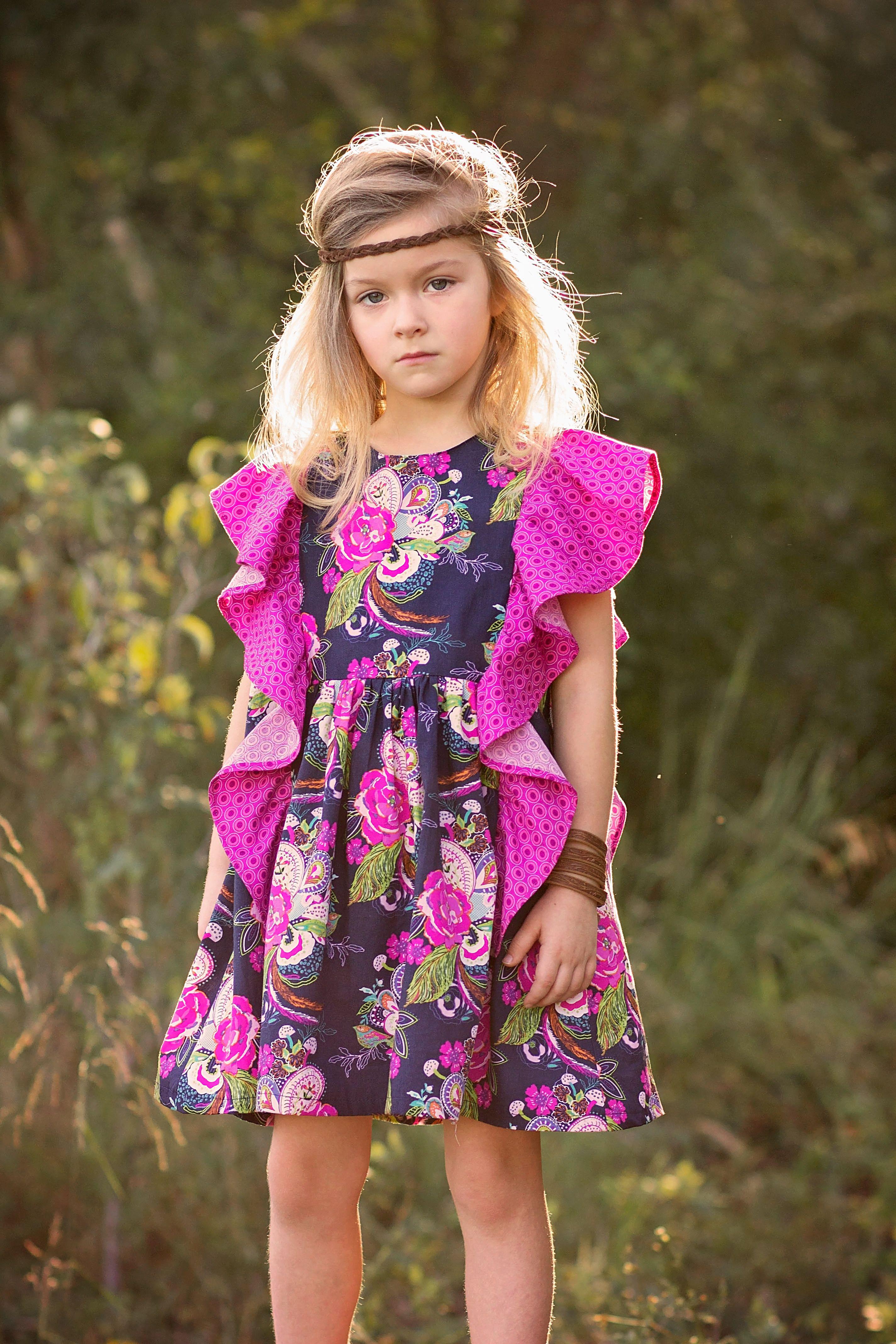 Odette Sewing Pattern Violette Field Threads Size 2-10