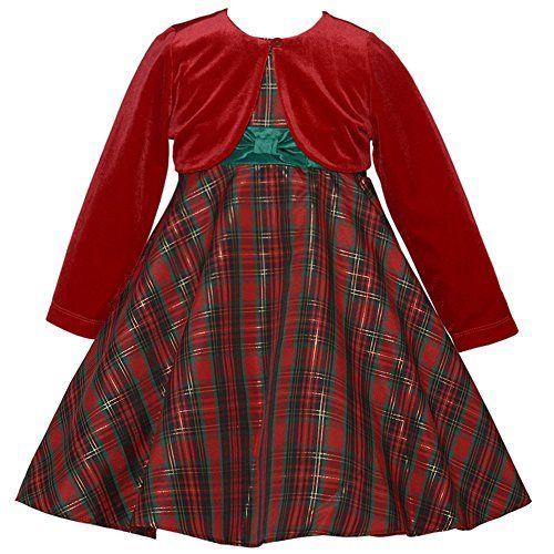 Rare Editions Baby Girls Red Plaid Christmas Dress and Bolero Jacket (12 months) Rare Editions http://www.amazon.com/dp/B00P70KEB8/ref=cm_sw_r_pi_dp_CBMCub1MB2M7V