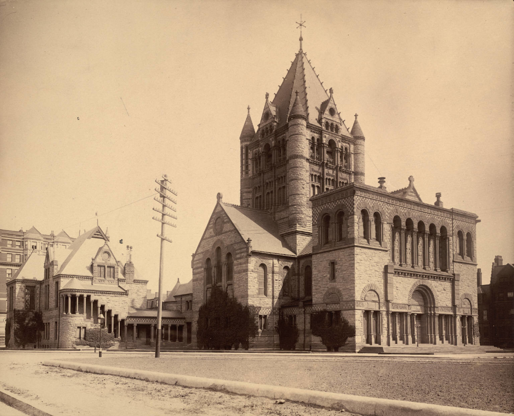 Trinity Church Boston In 2020 With Images Boston History American Architecture Historic Preservation