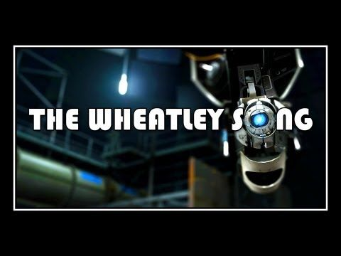"""Portal 2 - The Wheatley Song a la The Nightmare Before Christmas """"The Oogie Boogie Song"""""""