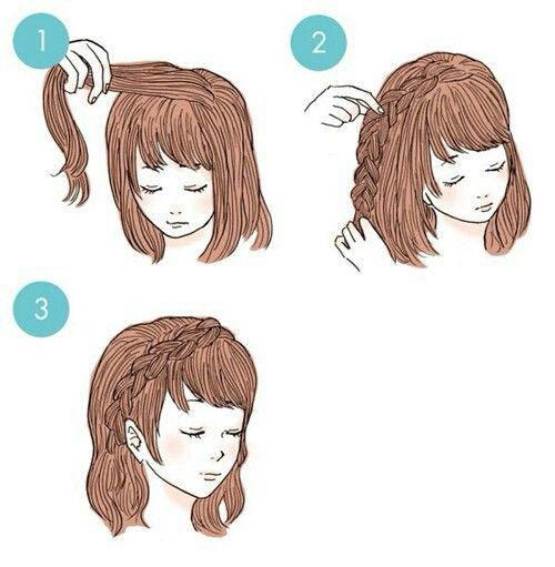 Hairstyle uploaded by Nazokat on We Heart It