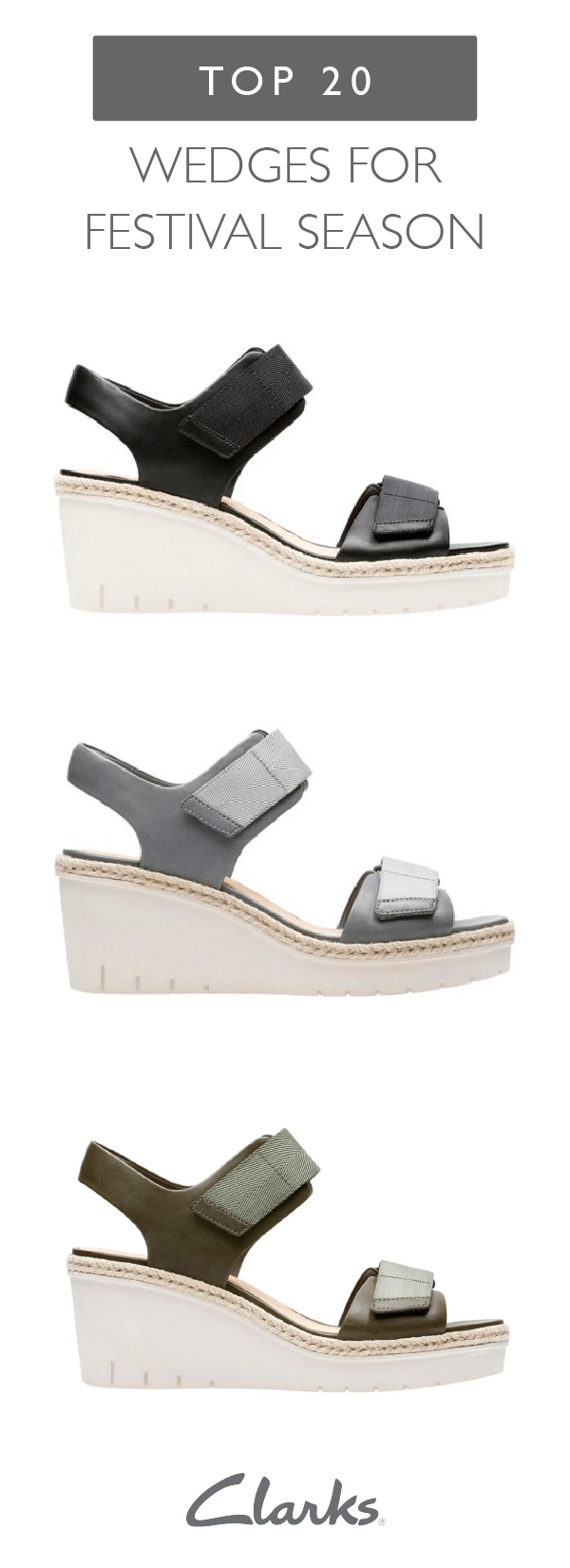 cd71e3d0594 Sporty style meets classic wedge sandals in these Palm Shine shoes ...