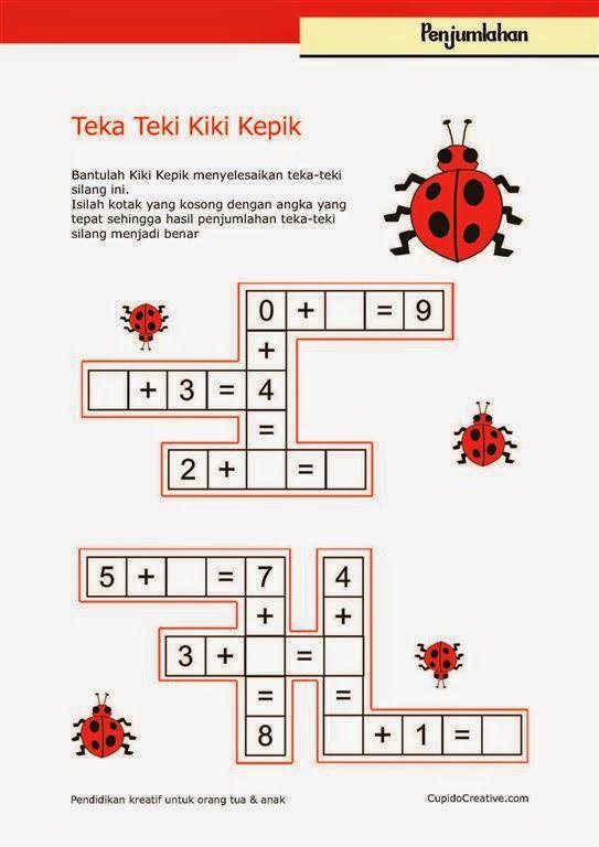 Belajar Matematika Anak Kelas 1 Sd Penjumlahan Angka 1 S D 15 Belajar Anak Pinterest