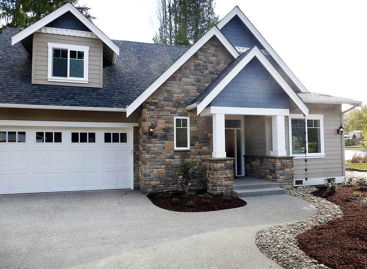 Plan 23527JD Impressive Master Suite Cottage lake