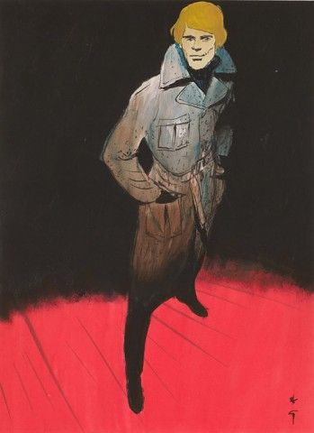René Gruau, Cover for Sir magazine, 1971...