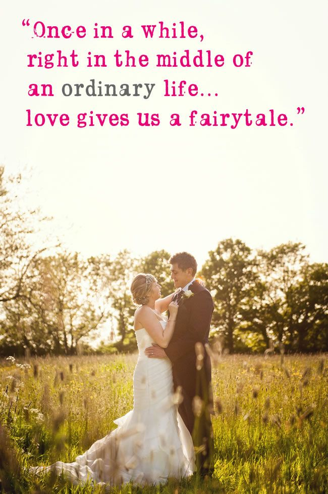 27 of the most romantic quotes to use in your wedding | Pinterest ...
