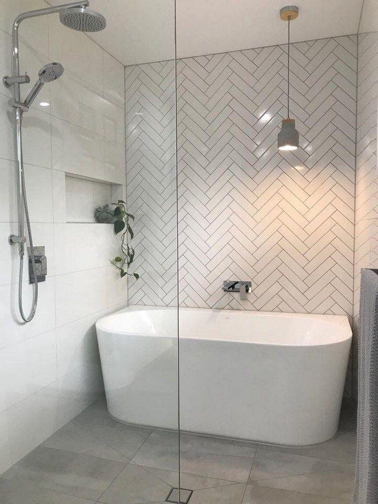 65 Modern Bathroom Renovation on a Budget  bathroomrenovation  modernbathroom  b… – 2019