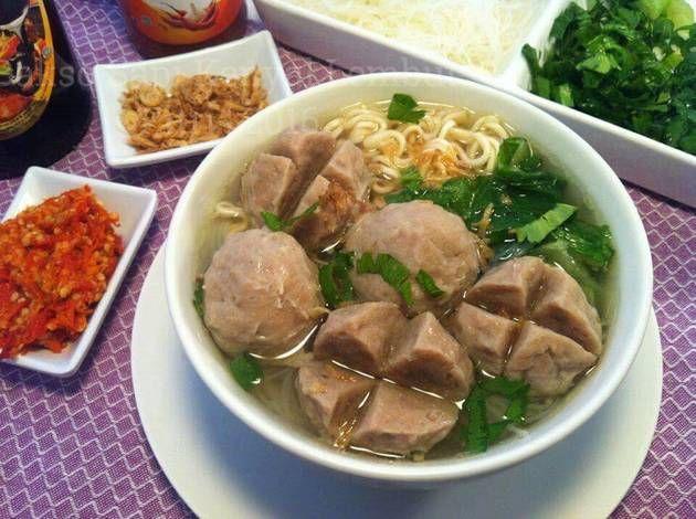 Resep Bakso Sapi Kenyal Lembut Memakai Daging Frozen Oleh Fitri Sasmaya Resep Makan Siang Resep Makanan