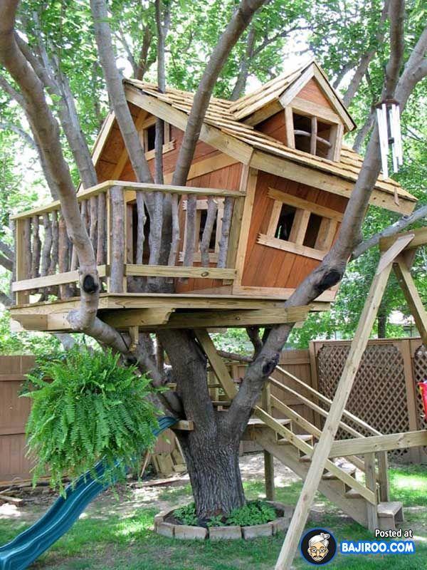 Une Cabane Dans Les Arbres Pour Votre Enfant Awesome