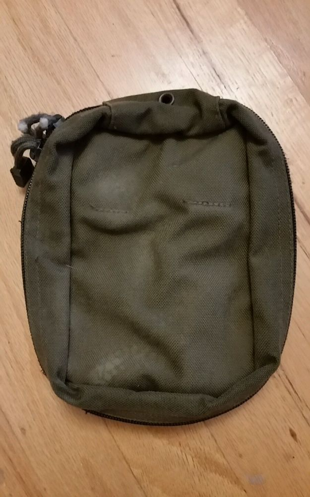 Tactical IFAK Individual First Aid Kit Trama MOLLE Pouch Range Green