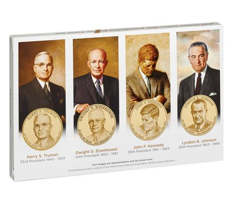 2013-S US Mint Presidential $1 Coin Proof Set PE3