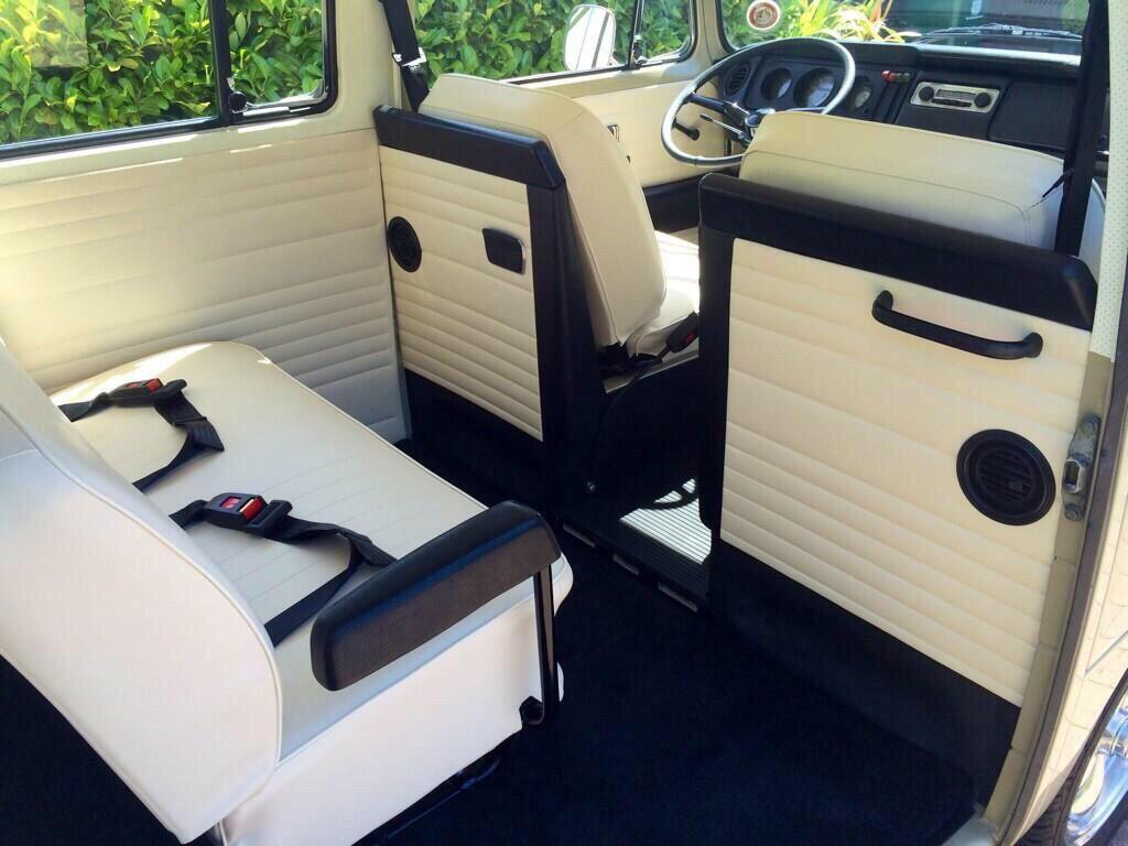 Earlybay Bus Interior Volkswagen Bus Vw Bus Camper