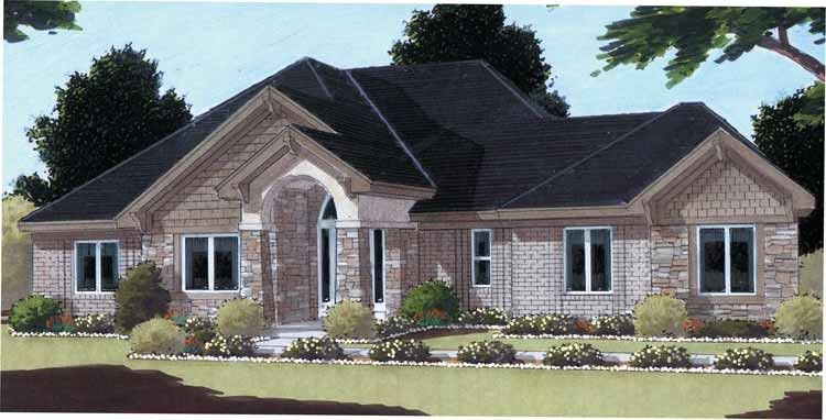 Traditional Style House Plan 3 Beds 2 Baths 1809 Sq Ft Plan 46 458 House Plans Ranch House Designs House Plans And More