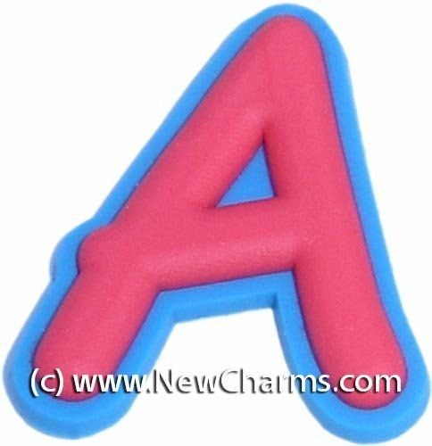 4b971899211ba Letter A Shoe Snap Charm Jibbitz Croc Style New Charms.  0.99. A great way  to show your style and personality.. Fun Shoe Charm.. Compatible with many  clogs ...