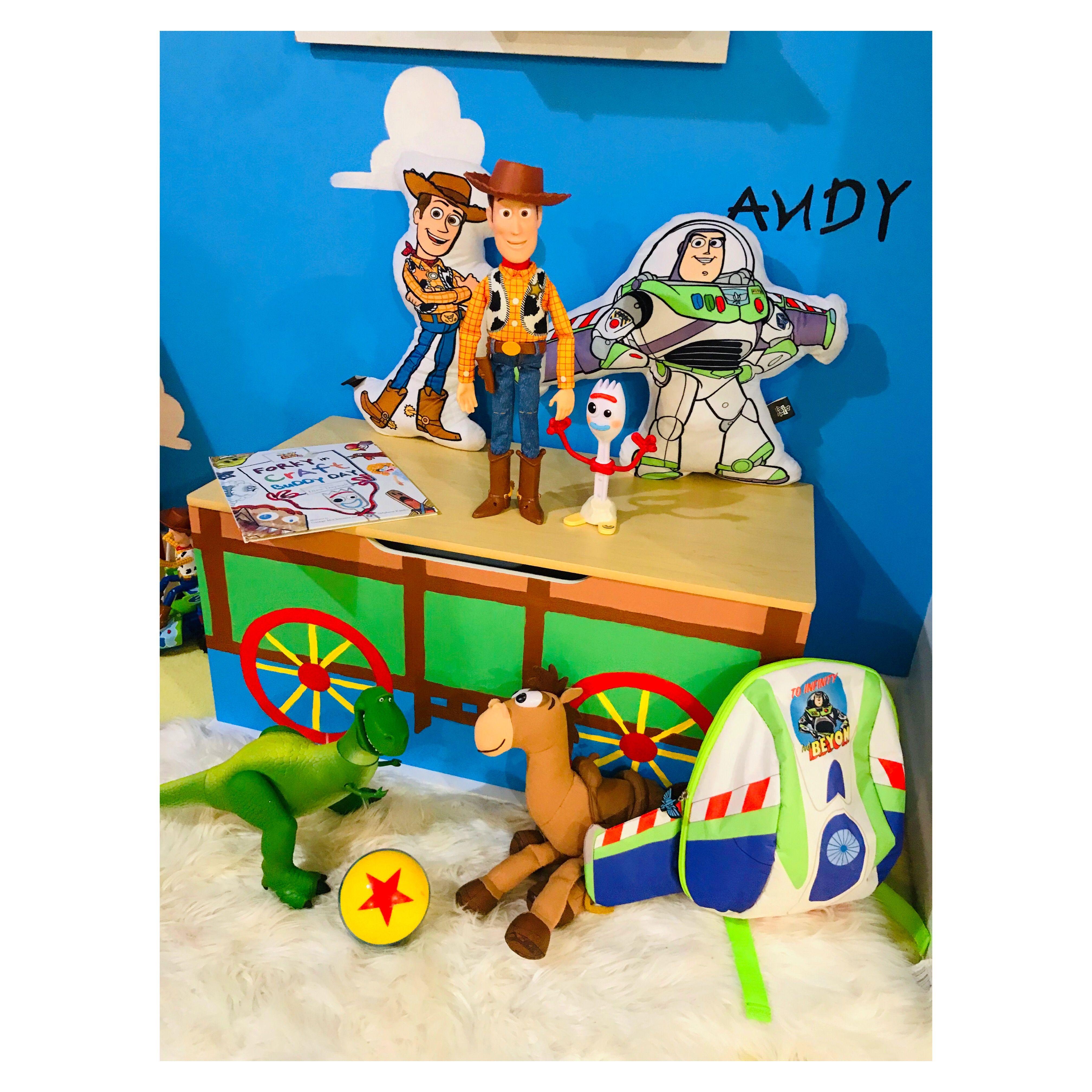 Diy By Me Kmart Toy Box Hack Toy Boxes Diy Toy Box Diy Box