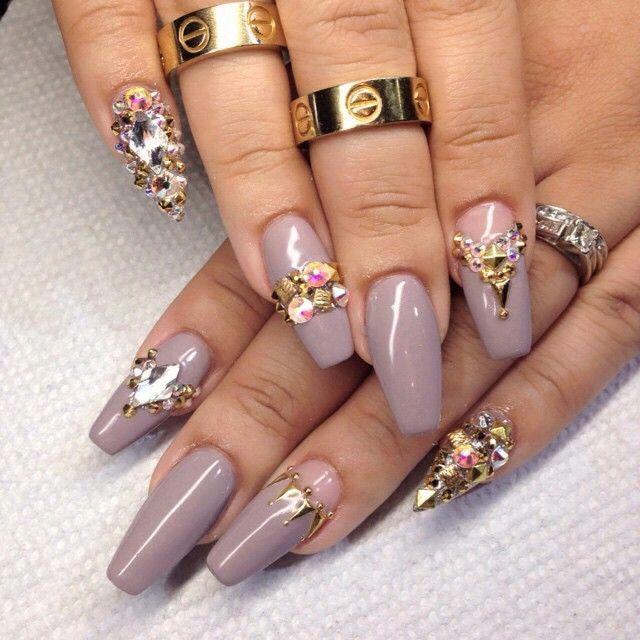Nails By: Mz Tina   Nails, Crystal nails, Pretty nail designs