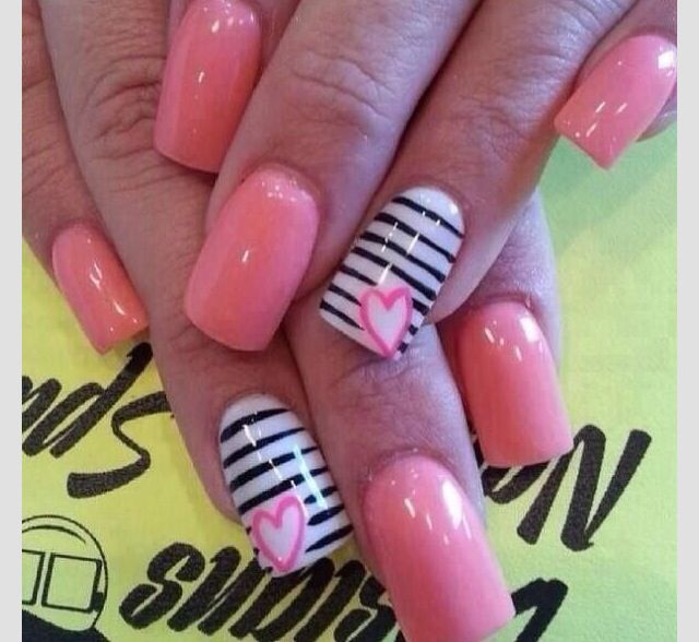 Summer baby pink nails design - Summer Baby Pink Nails Design Nails Pinterest Baby Pink Nails