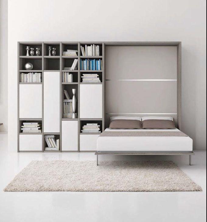 LETTO A SCOMPARSA ART. 2020/2B - Mobili Recchia | mounted bed ...