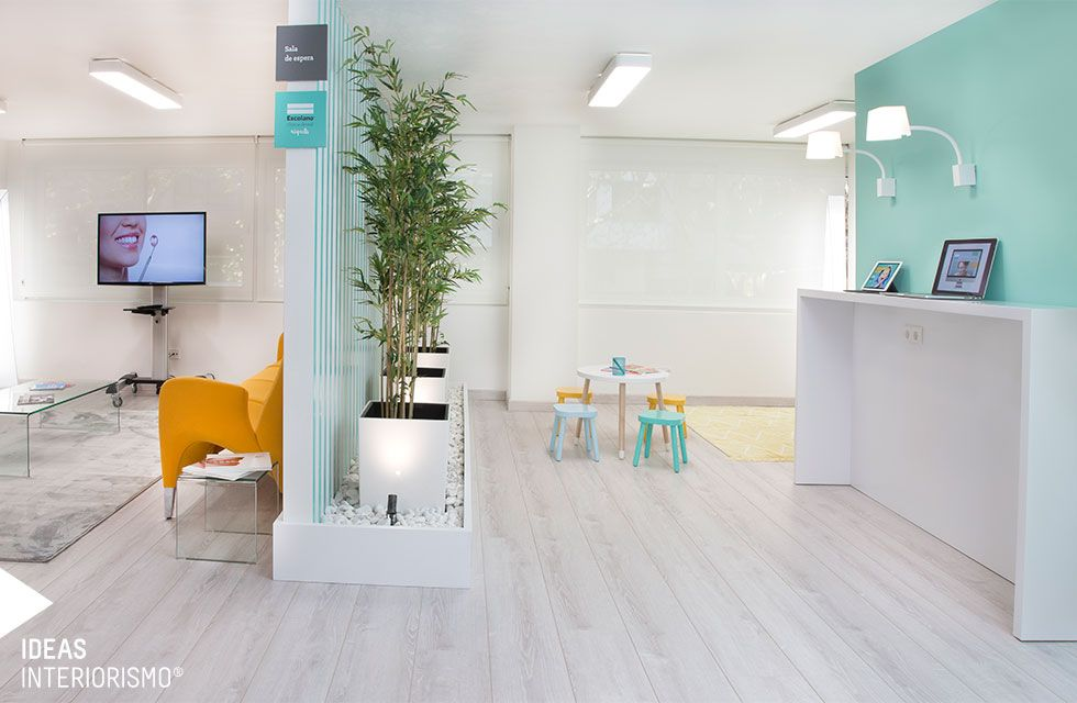 Cl nica dental decoraci n de interiores en valencia c - Decoracion de clinicas dentales ...