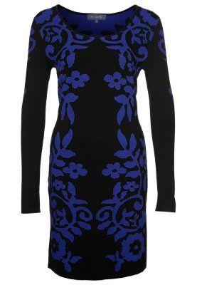LHASSA - Strikket kjole - blå