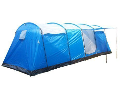 Peaktop 8 Person Big Tunnel Family C&ing Tent /4 Bedroom by PeakTop   sc 1 st  Pinterest & Peaktop 8 Person Big Tunnel Family Camping Tent /4 Bedroom by ...