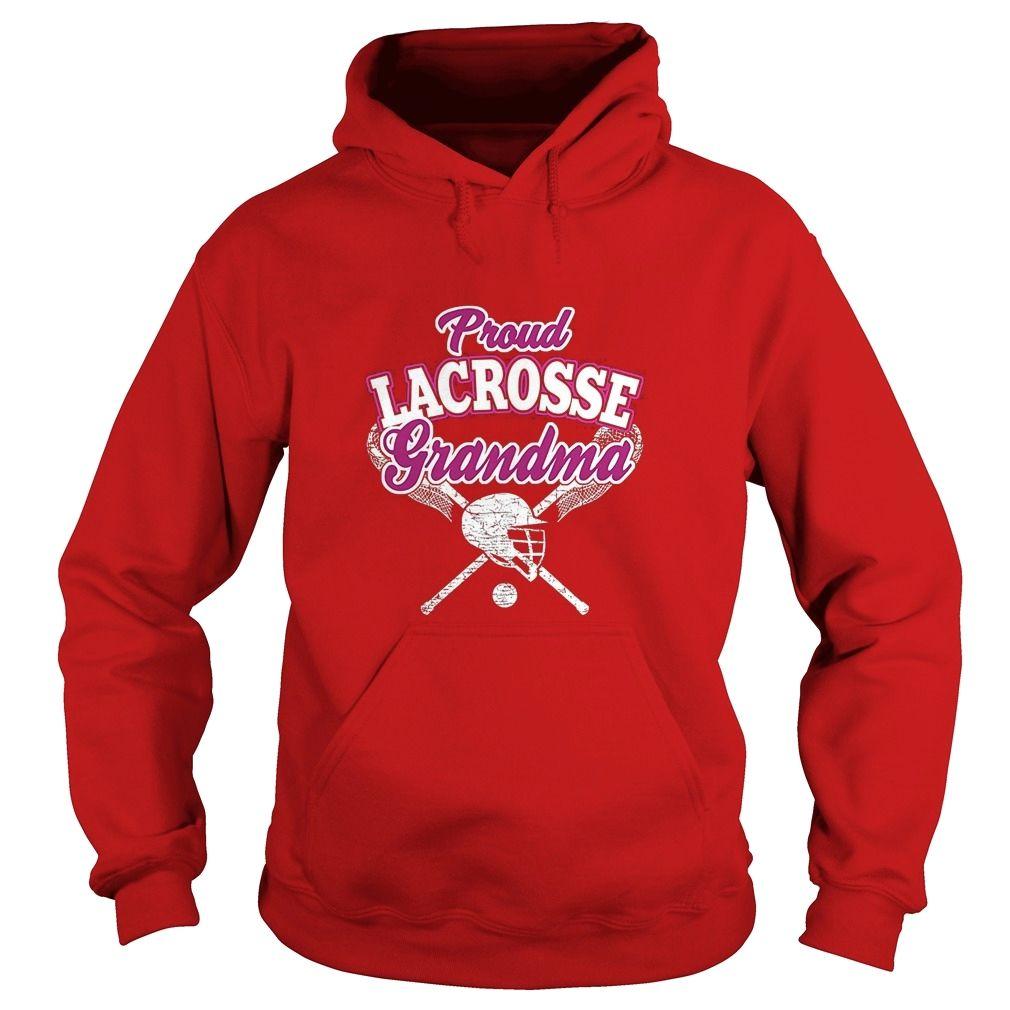 Felpa Con Cappuccio Con Zip Delle Donne Lacrosse Nonna AUnKr10jX