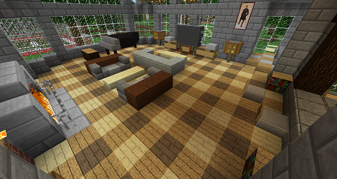 Minecraft Furniture Flooring Minecraft Minecraft Ideen Und