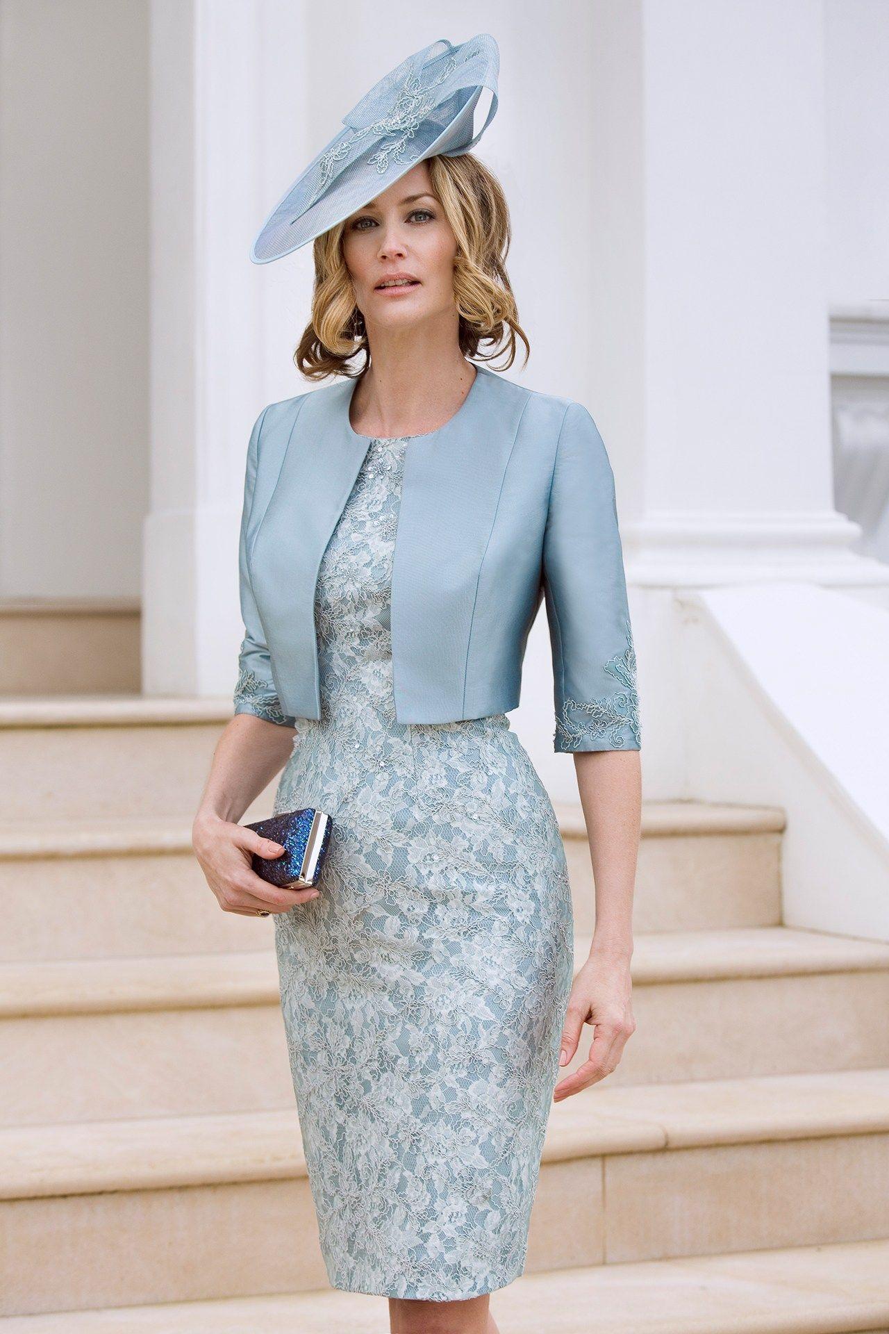 Light Sky Blue Mother of the Bride Dresses - QueenaBelle UK 2017