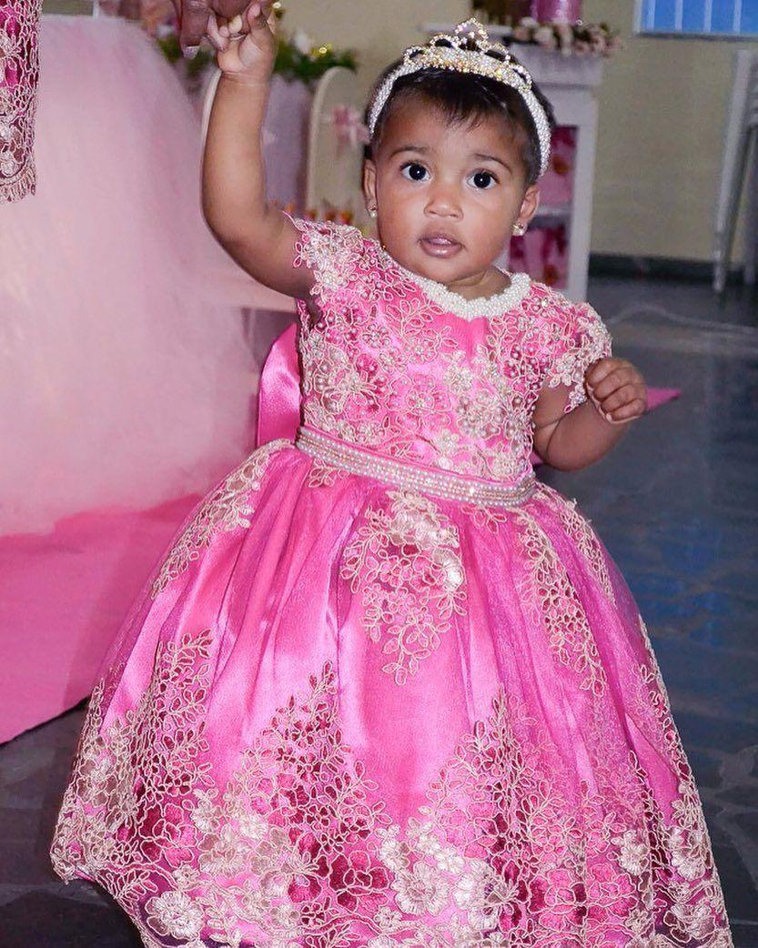 Uma Princesa Linda Maria Luiza Veste Cecilia Cavalcante Flower Girl Dresses Girls Dresses Dresses