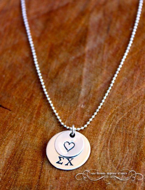 sigma chi sweetheart necklace sorority sigma chi swee