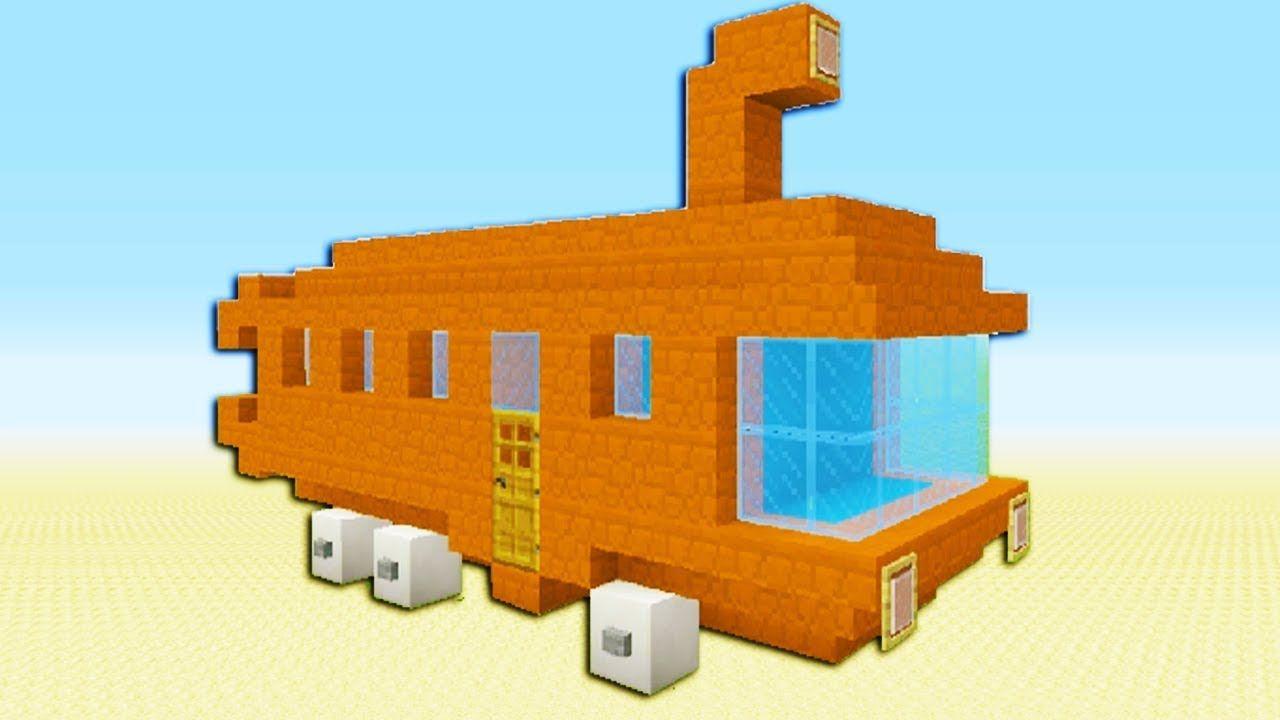 Minecraft Tutorial How To Make The Bikini Bottom Bus Spongebob Squarepants Https Cstu Io 5bd2bc Minecraft Tutorial Disney Minecraft Minecraft Crafts