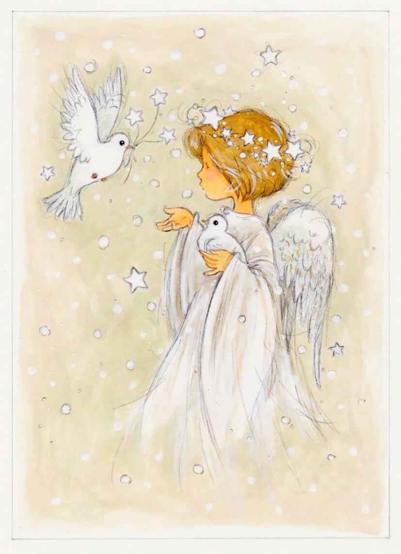 открытки на сайт ангелы чему