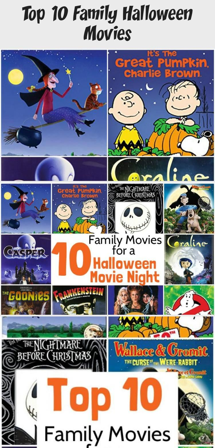 Have a fun Halloween movie night with your family with