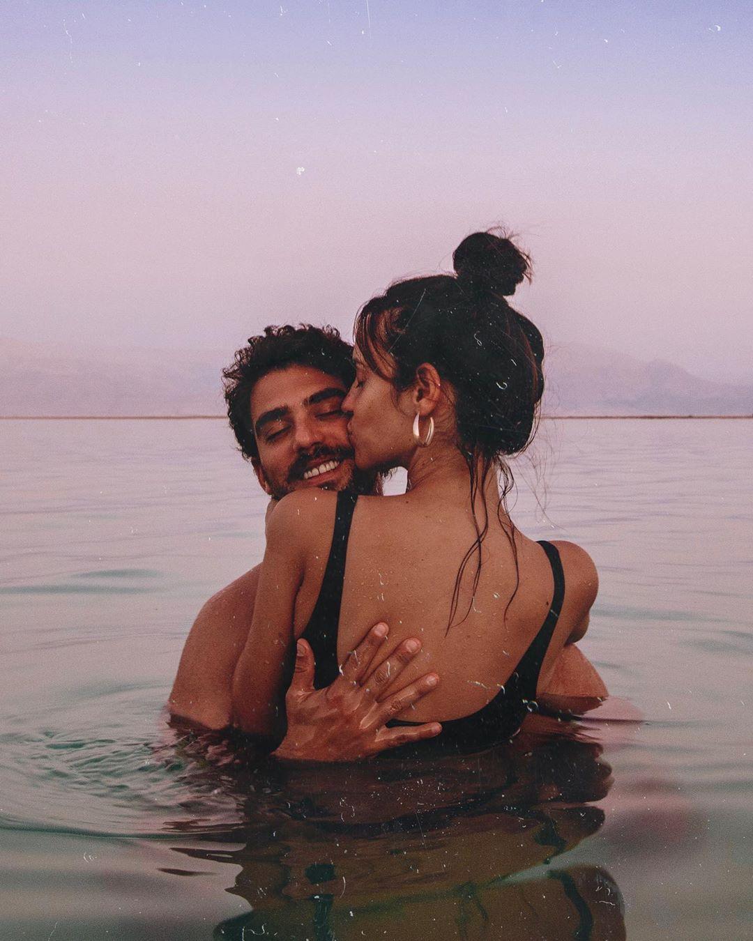 #deadsea #israel #love #couple #travel