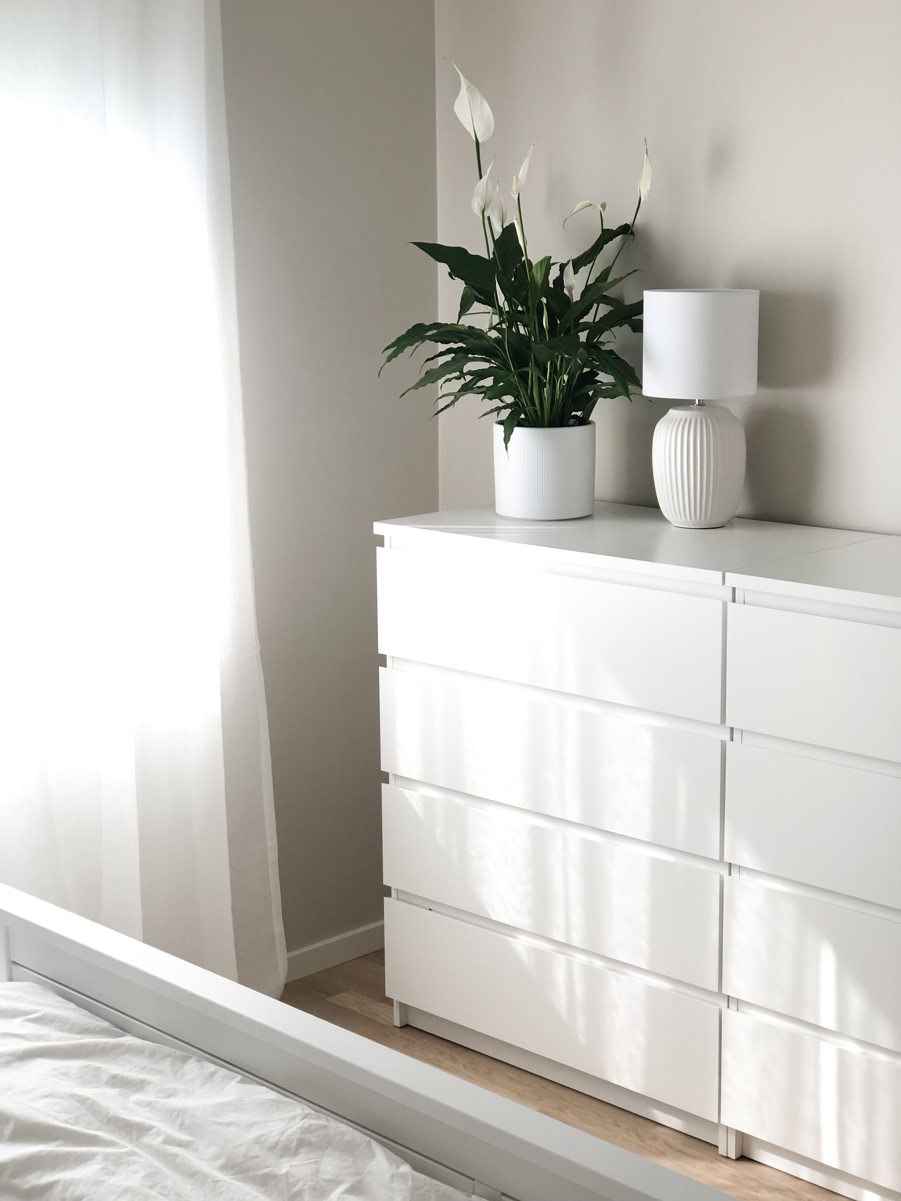 Ikea Malm Chest Of 4 Drawers Styling By Housewithrose Light Home