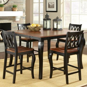 Costco Roslyn 5Piece Counterheight Dining Set  Home Classy Pub Height Dining Room Sets Design Inspiration