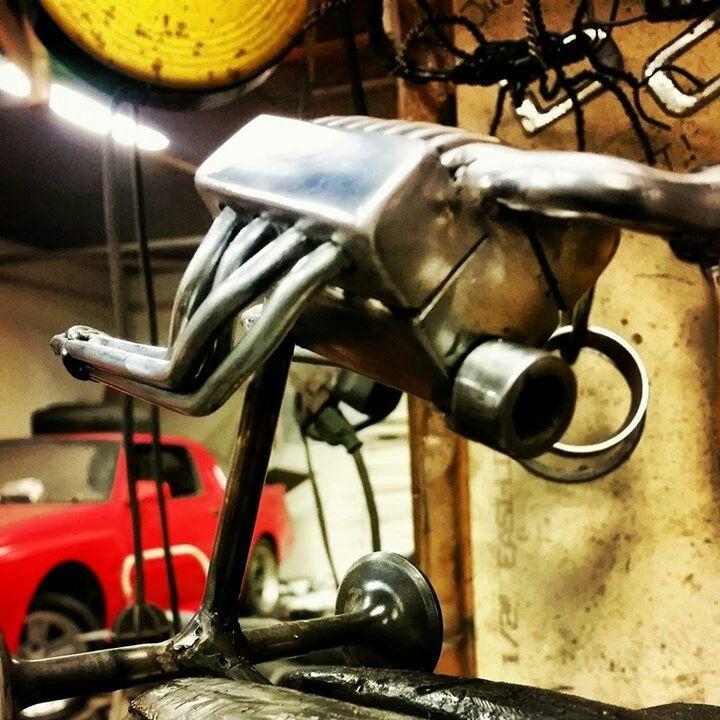 Custom Metal Creations by Kevin Dickey.